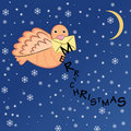 Christmas bird Stock Photography