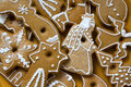 Christmas biscuits Royalty Free Stock Photography