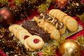 Christmas biscuits Royalty Free Stock Images