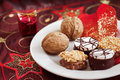 Christmas biscuits Stock Photos
