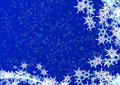 Christmas blue background from Royalty Free Stock Photos