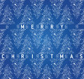 Christmas blue card with grungy Christmas trees Royalty Free Stock Photo