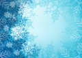 Christmas blue frme background Royalty Free Stock Photos