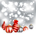 Christmas Blurred Design Royalty Free Stock Images
