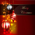 Christmas Blurred Design Stock Image