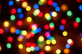 Christmas bokeh background Stock Photography