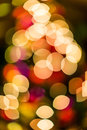 Christmas bokeh light blurs abstract winter pattern Royalty Free Stock Photography