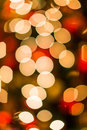 Christmas bokeh light blurs abstract winter pattern Stock Photos