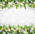 Christmas Border Background