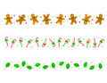 Christmas Border/ divider Stock Photos