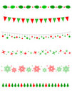 Christmas Border / divider Royalty Free Stock Photo
