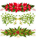 Christmas borders Royalty Free Stock Photos