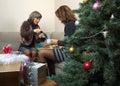 Christmas Breakfast Stock Image