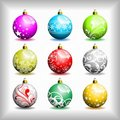 Christmas bubbles. Royalty Free Stock Photos