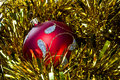 Christmas bulb Royalty Free Stock Images
