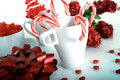 Christmas candies Stock Image