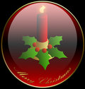 Christmas, Candle, Background, Holidays Royalty Free Stock Image