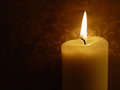Christmas candle night lots space text Royalty Free Stock Photo