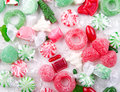 Christmas candy Stock Photos