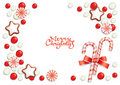 Christmas candy background Royalty Free Stock Photography