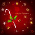 Christmas candy cane beautiful background of Royalty Free Stock Image