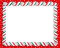 Christmas Candy Frame Border