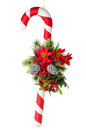 Christmas cane Royalty Free Stock Images