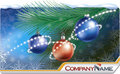Christmas Card-banner Royalty Free Stock Image