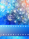 Christmas card colorful bokeh of lights. EPS 8 Royalty Free Stock Photography