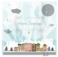 Christmas card this is file of eps format Royalty Free Stock Photos
