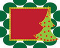Christmas card gift background  illustration Royalty Free Stock Image