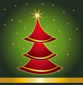 Christmas card gift background vector illustration Stock Photography