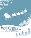Christmas card illustration Royalty Free Stock Image