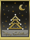 Christmas card the original of high resolution image Royalty Free Stock Photos