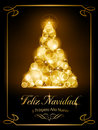 Christmas card, tarjeta navide�a Royalty Free Stock Photo