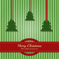 Christmas card template with place for your text Royalty Free Stock Image
