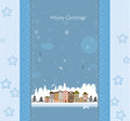 Christmas card vector this is file of eps format Royalty Free Stock Image