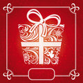 Christmas card vector illustration Stock Image