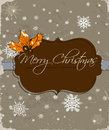 Christmas card vector illustration eps Royalty Free Stock Photo