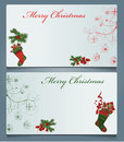 Christmas cards vector illustration background Royalty Free Stock Images