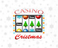 Christmas casino Stock Photography