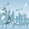 Christmas in the city Stock Photography