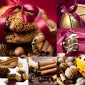 Christmas Collage Stock Photo