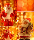 Christmas collage Stock Photography