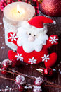 Christmas composition with Santa Claus Royalty Free Stock Photos