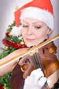 Christmas concert Royalty Free Stock Photography