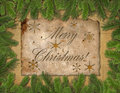 Christmas congratulatory background. Stock Images