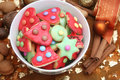 Christmas cookies Stock Images