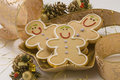 Christmas cookies. Royalty Free Stock Images