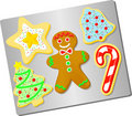 Christmas Cookies/ai Royalty Free Stock Photo